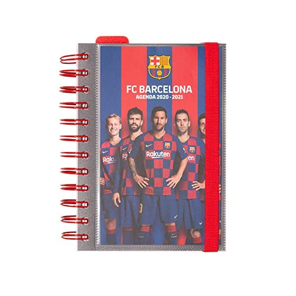 Diario Scuola Giornaliero 2020/2021, 11 mesi, 11,4x16 cm - FC Barcelona 1 spesavip