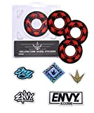 Envy Spin Wheel Sticker Pack (for use with 110mm Wheels)