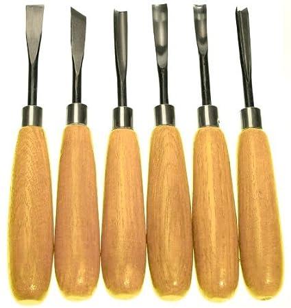 Amazon wood carvers basic tool set with straight handles