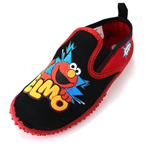 Sesame Street Boys Elmo Aqua Socks Water Shoes