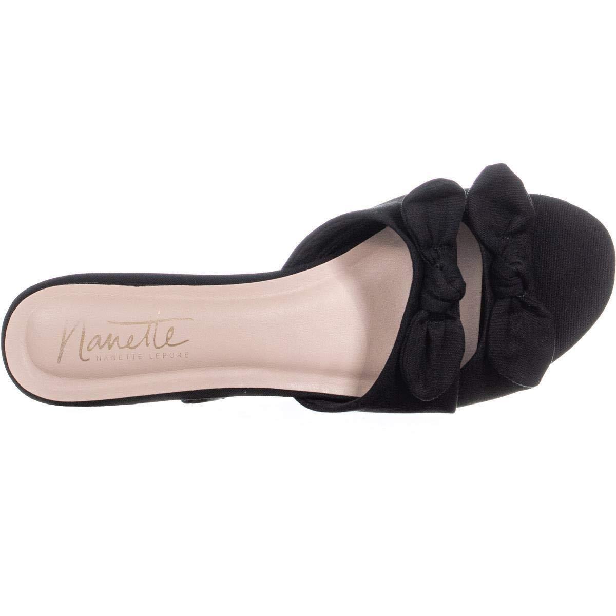 Nanette Nanette Lepore Womens Kendra Knotted Dress Flat Sandals