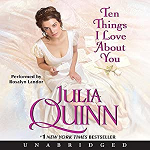 Ten Things I Love About You Audiobook