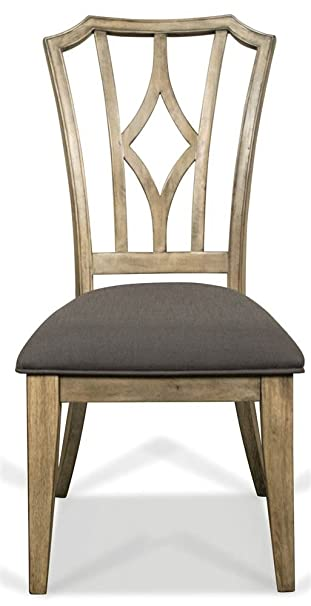 Amazing Amazon Com Riverside Furniture Upholstered Diamond Back Creativecarmelina Interior Chair Design Creativecarmelinacom