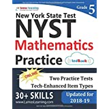 New York State Test Prep: 5th Grade Math Practice Workbook and Full-length Online Assessments: NYST Study Guide