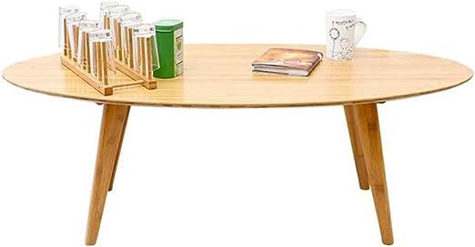 Mesas CJC Mesa De Café Muebles Natural Bambú Sala De Estar ...