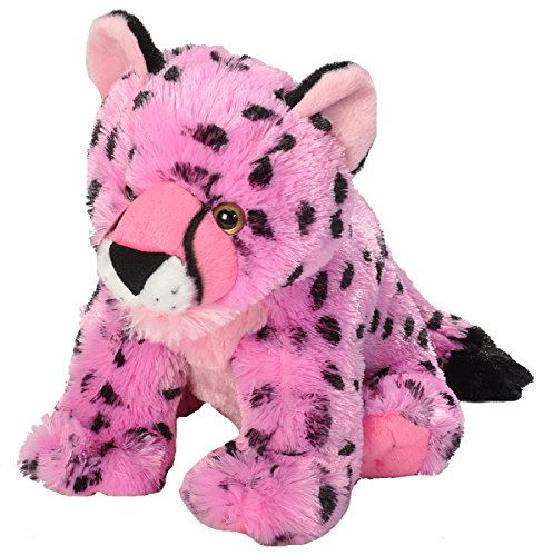 Wild Republic Cuddlekins Cheetah (Wild Republic Cuddlekins Vibes Pink Cheetah Plush)