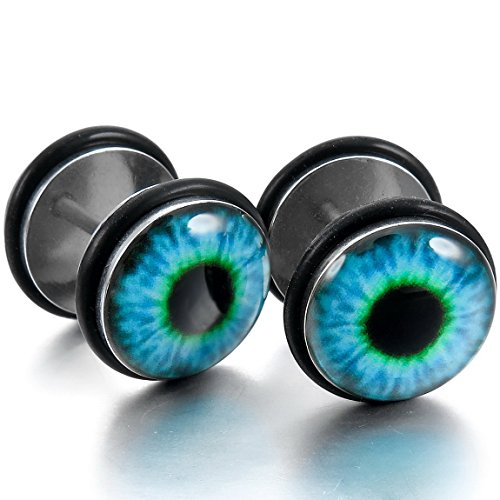 INBLUE Womens Stainless Enamel Earrings