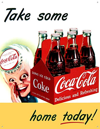 Coke Sprite Boy Tin Sign 13 x 16in