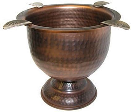 antique copper ashtray