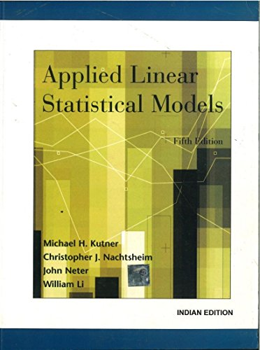 applied linear statistical models 5th edition pdf free download