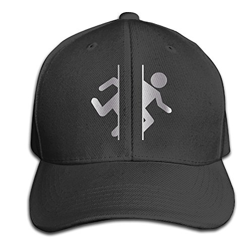 black-adesivo-porta-logo-platinum-style-mens-adjustable-peaked-baseball-caps-hats