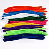 Pipe Cleaners, Pack of 50 (Assorted Colours)