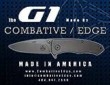 Combative Edge CBE00430 G1 Framelock Titanium Folding Knife