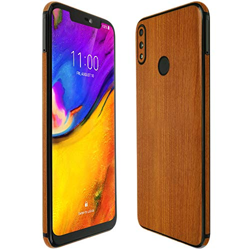 Skinomi Light Wood Full Body Skin Compatible with BLU Vivo XI+ (Full Coverage) TechSkin with Anti-Bubble Clear Film Screen Protector