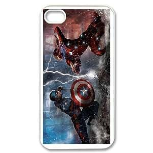 Life margin Captain America Civil War phone Case For iPhone 4,4S G94KH3398