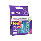 KENTLI 4 Pieces KENTLI 1.5v AA Rechargeable Battery 3000mWh Lithium-ion Polymer Battery AA Batteries