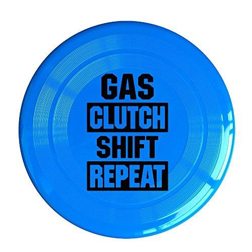 YQUE56 Unisex Gas Clutch Shift Repeat Outdoor Game Frisbee Flying Discs RoyalBlue (Ralph Lauren Iphone 4 Case)