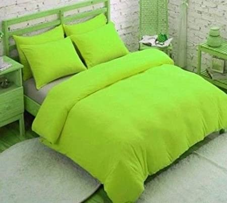 Adam Plain Duvet Cover With Pillow Case Quilt Cover Bed Set Or