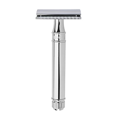Edwin Jagger DE89bl Chrome Plated Double Edge Safety Razor