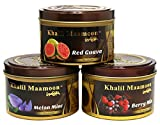 Standpoint 6 Can Khalil Mamoon Shisha Molasses Premium Flavors 100g For Hookah (Choose Flavor)