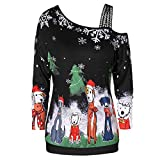 Women Fashion Christmas Print Dress Round Neck Long Sleeve Zipper Bow Hepburn Party Swing Dress Black