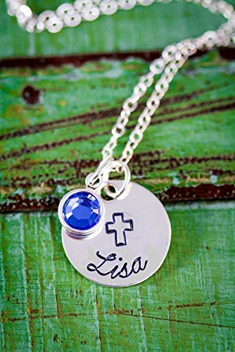 Cross Necklace - ROI - Baptism Gift Confirmation - 5/8