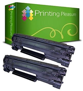 Printing Pleasure CB435A 35A Tóner Compatible con HP Laserjet ...