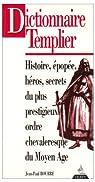 Dictionnaire templier par Bourre