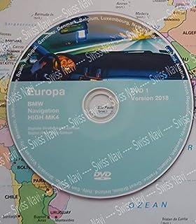 BMW Navi Update Professional 2018 DVD Road Map Europe: Amazon.de ...
