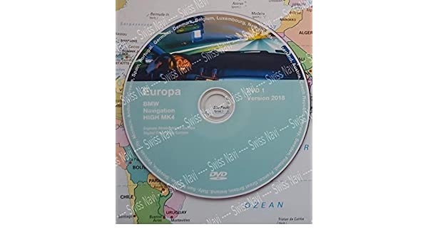 BMW High DVD 2018 Europe DVD Navigation MK IV DVD1 + Update V32 New: Amazon.es: Electrónica