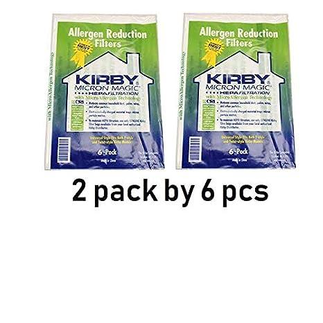 Amazon.com: Kirby aspiradora Gamuza bolsas de papel ...