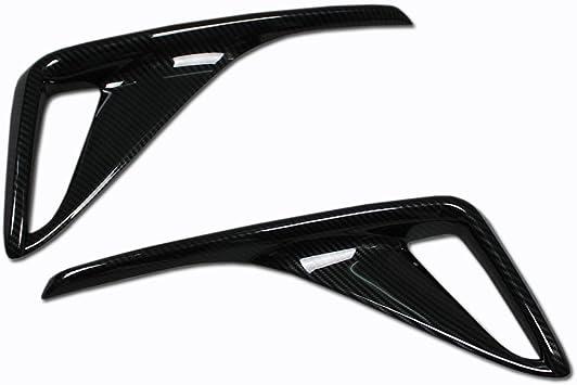 Kadore Car Tail Light Cover Trim for Toyota C-HR 2018-2019 Carbon Fiber Style 4-pc
