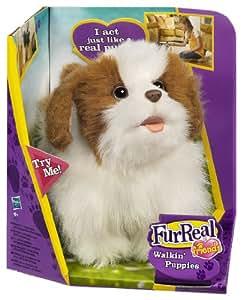 Fur Real Friends Mi perrito andarín - Perro de peluche con movimiento (Hasbro)