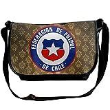 Lov6eoorheeb Unisex Coat Of Arms Of Chile Wide Diagonal Shoulder Bag Adjustable Shoulder Tote Bag Single Shoulder Backpack For Work,School,Daily