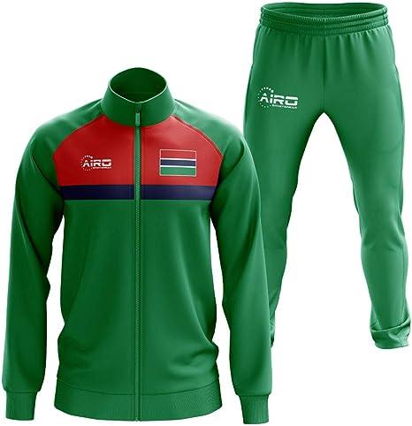 Airosportswear Gambia Concept - Chándal de fútbol, Color Verde ...