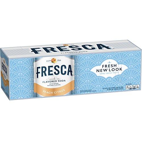 Fresca Peach Citrus, 12 fl oz, 12 Pack from Fresca
