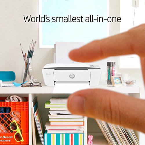 HP DeskJet 3755 Compact All-in-One Wireless Printer with Mobile Printing, HP Instant Ink & Amazon Dash Replenishment ready - Stone Accent (J9V91A) by HP (Image #6)