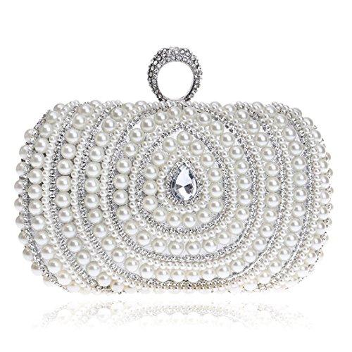 colore Hemotrade elegante argento da Pochette Argento sera qUnxZgg