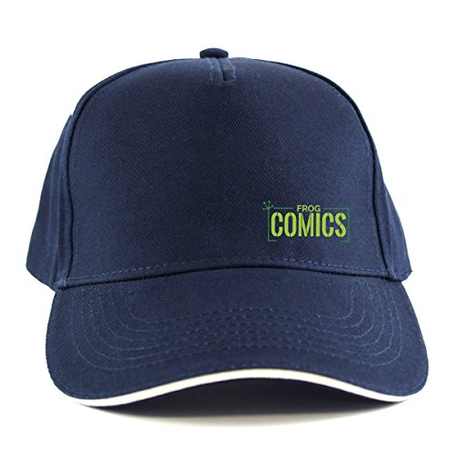 The Lost Boys: Frog Comics SML Green Sandwich Peak Cap (One Size Fits All/Navy (with White Peak Edging)) (Schumacher Hat)