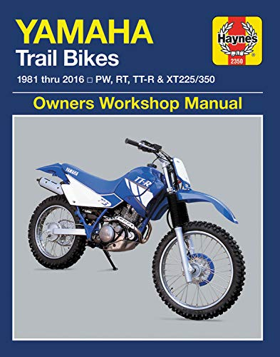 Yamaha Trail Bikes, 1981-2016 Haynes Repair Manual: Does not include 2003 TT-R90E models. Includes thorough vehicle coverage apart from the specific exclusion noted (Haynes Powersport)