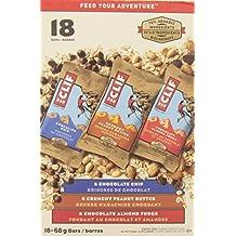 CLIFF Nutrition Bars- Variety Pack 18 - 68g Bars