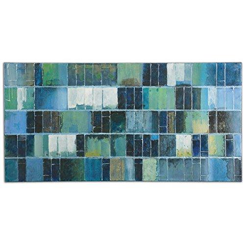 Uttermost 34300 Glass Tiles Modern Art