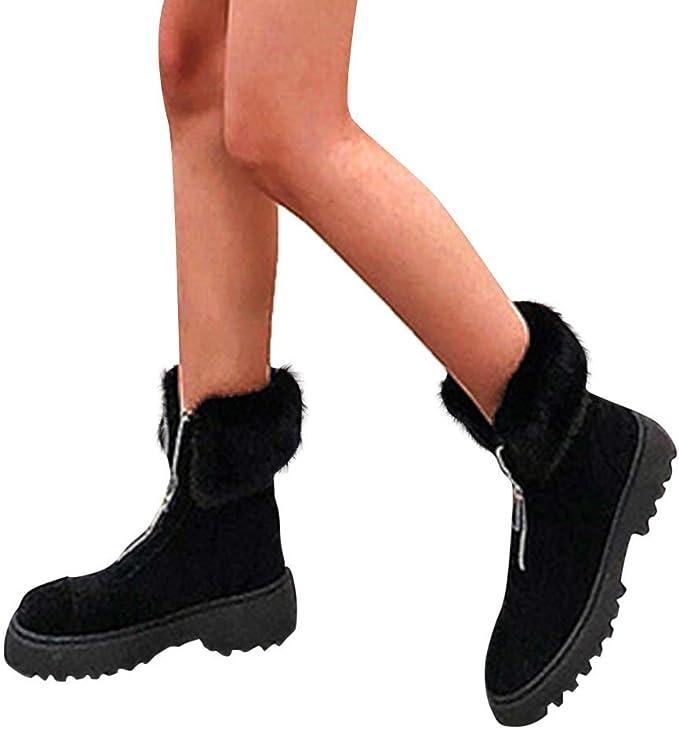 Jujia Shoes Stivali Donna Invernali Stivali Invernali Uomo