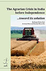 The agrarian crisis in India before independence: toward its solution