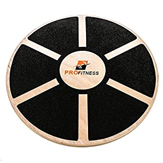 ProFitness-Wooden-Balance-Board-155-inch-by-31-inch-Exercise-Fitness-and-Physical-Therapy-Non-Slip-Safety-Top-Tone-Muscles-Strengthen-Core-and-Injury-Rehab