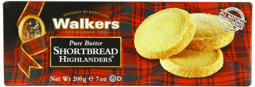 Highlander Shortbread - Walkers Shortbread Highlanders, 7-Ounce Boxes (Pack of 4)