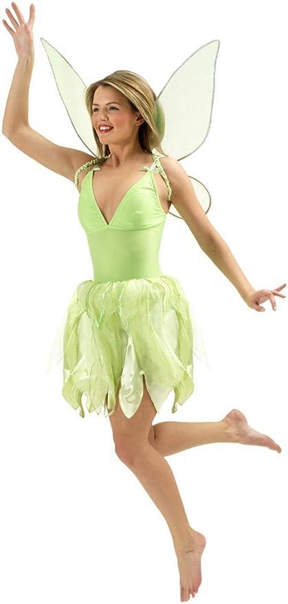 Generique - Disfraz de Campanilla para Mujer: Amazon.es: Juguetes ...