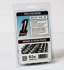 1 Shot Steel Stud Anchor 10 Pack