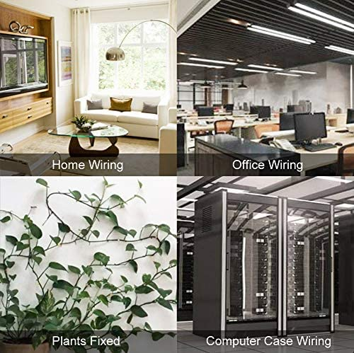 White Offices Homes and Fairy Light 100 Pieces Mini Outdoor Cable Clips with Strong Self Adhesive Hooks Light Clips Wire Holder Decoration Clips Self Adhesive Hooks Wire Holder for Christmas