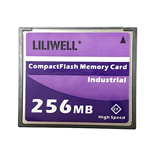 LILIWELL Original 256 MB CompactFlash Card Industrial High Speed Digital Camera CNC Flash Memory Card - Mb 256 Memory Compactflash